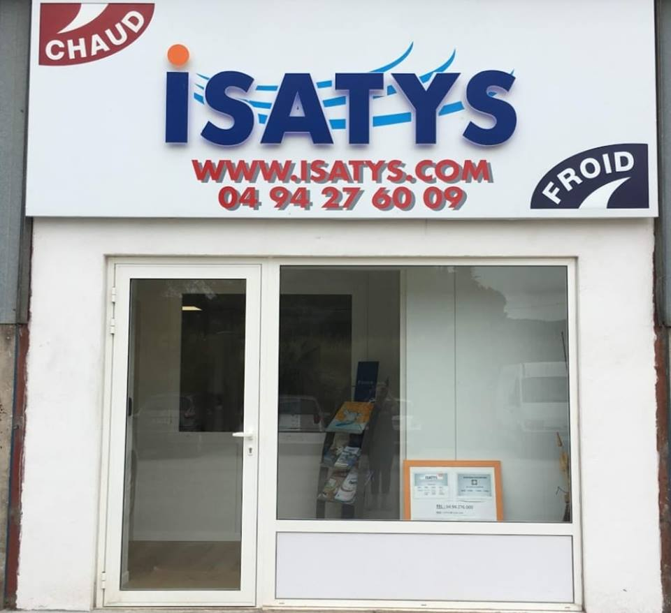 Nouvelle adresse ISATYS